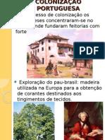 Colonizacao Portuguesa