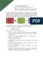Derecho Financiero Órganos de La Actividad Financiera Del Estado Docx