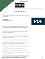 20-11-15 Indigna a Pavlovich acción del SAT - DossierPolítico