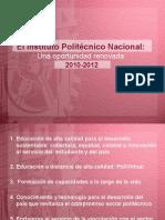 Programa Trabajo 2010-2012