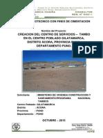 01.00 Informe de Suelos Gilatamarca-Puno