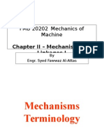 Chapter 02 - Mechanism and Linkages_Part A