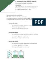 Explicação e Representação de Reações Químicas