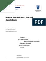 Grupa 1 Etica Si Deontologie Profesionala