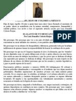 Carta Del Hijo de Colosio a Mexico
