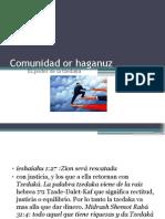 Comunidad or haganuz tzedaka y jesed.pptx