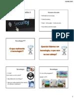 01 - Tecnologias Aplicadas à Segurança - Aula 01