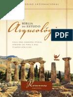 Amostra Bíblia Arqueológica