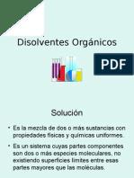 Presentaci+¦n disolventes org+ínicos DGTPSDF