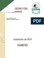 Instalación de PLM Diabetes