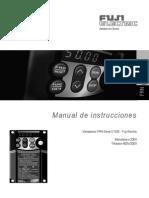 Manual Tecnico Variador Bombas Presion Planta de Dialisis