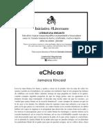 Jamaica Kincaid - Chica