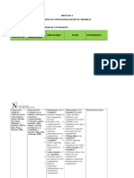 Matriz de Operacionalización de Variables e Indicadores