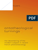 Ontotheological Turnings? Joeri Schrijvers
