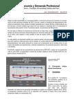 Boletín Economía y Demanda Profesional - Tercer Trimestre 2015