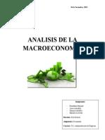 Proyección  Macroeconómica (Noticia)