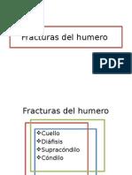 Fracturas del Humero y Antebrazo
