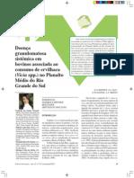 Doença granulomatosa sistêmica em bovinos associada ao consumo de ervilhaca (Vicia spp.) no Planalto Médio do Rio Grande do Sul