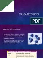 Terapia antifúngica