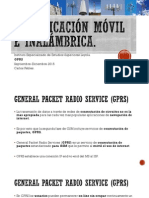 Presentacion6.1 - Inalambrica - GPRS