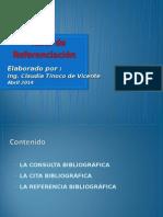 Taller de Referenciacion Versión Claudia Tinoco 2015