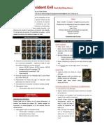 Resident Evil - Reglas en Espanol a La JcK