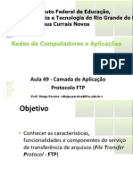 Aula 49 - Camada de Aplicacao FTP