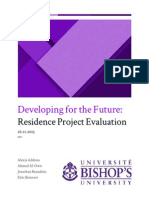 Project Evaluation for Bishop's University