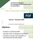 Aula25 - Protocolo ICMP