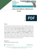 La Gestión Académica Del Bachillerato a Distancia de La UNAM