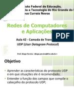 Aula 42 - Camada de Transporte UDP