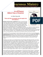 Biblical Hours of Prayer - Judeo-Christian - Robert Somerville