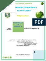 Planificacion Ambiental en Peru