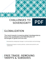challenges to sovereignty