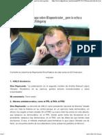 23-11-15 Buen artículo de @rivapa sobre @Lopezobrador_ pero lo echa a perder con grilla a @LVidegaray