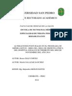 PROYECTO INVESTIGACION HIPERLAXITUD- TRANSTORNO POSTURAL