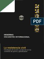 La Resistencia Civil