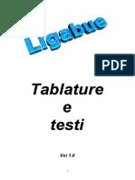 Canzoniere - Ligabue - Tablature E Testi
