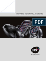 DTS Moving Head Projectors