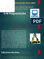 Exposicion Linux Mint