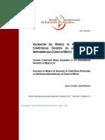 VALORACIÓN DEL MODELO DE EVALUACIÓN DE COMPETENCIAS DOCENTES EN LA UNIVERSIDAD IBEROAMERICANA CIUDAD DE MÉXICO