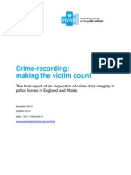 HMIC - Crime Recording - Making the Victim Count