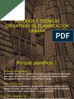 Metodos y tecnicas operativas del Proceso Urbano (1/6)