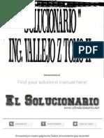 Solucionario Física Vectorial 2 - Vallejo, Zambrano - 1ed
