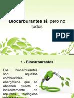 Biocarburantes Si,Pero No Todos
