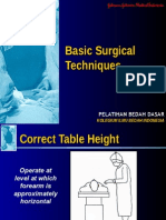 Basic Surgical Techniques j