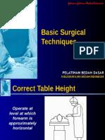 Basic Surgical Techniques j