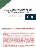 Base Constitucional Del Derecho Municipal