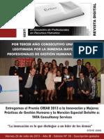 2013 Julio Revista Gestion de Personas Edición 18