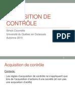 Acquisition Controle